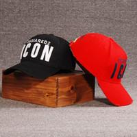 chapéu cap venda por atacado-Letras de ícone Bonés de Beisebol Algodão Clássico Design Rapidamente Seco Boné Bordado Casquette Para Homens Hip Hop Esporte Ao Ar Livre Sun Dad Trucker Hats