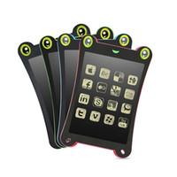 comprimés jouets achat en gros de-Écran LCD Couleurs Écran Tablette 8,5 Pouces Dessin Écriture Pad Pad Panneau De Message Enfants Conseil d'écriture Jouet Éducatif