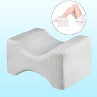 тазобедренный сустав оптовых-Orthopedic Memory Foam Knee Wedge Pillow for Sleeping Sciatica Back Hip Joint Pain Relief ContourThigh Leg Pad Support Cushion