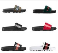 баскетбол обуви тапочки оптовых-С коробкой! Женские высококачественные тапочки Фирменные сандалии Туфли на плоской подошве Дизайнерские туфли Слайд баскетбольные кроссовки Повседневная обувь Вьетнамки by shoe10 KQT05