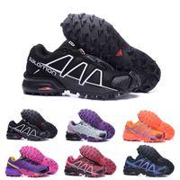 Wholesale art crosses online - Salomon Speed Cross CS Mens Outdoor Hiking Shoes SpeedCross Breathable Women Athletics Running Sports Sneakers