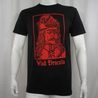 neue gute fotos großhandel-DRACULA VLAD TEPES Das Impaler-Foto-Porträt-T-Shirt S-3XL NEUES T-Shirt Gute Qualitäts-T-Shirt übersteigt homme hohe Qualität