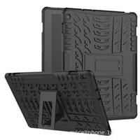 huawei tablets pc venda por atacado-Dazzle híbrido kickstand tpu + pc robusto armadura tablet case capa para huawei mediapad m3 lite 10.1 m5 10.8 protetora shell com kickstand