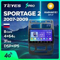 rádio de carro para kia venda por atacado-TEYES SPRO Para Kia Sportage 2 2007-2009 Rádio de carro Multimídia Navegador de vídeo GPS Android 8.1 Acessórios Sedan No dvd 2 car dvd