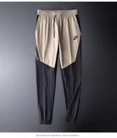 ropa de calidad de fitness al por mayor-2019 alta calidad Jogger pantalones hombres Fitness culturismo gimnasios pantalones para corredores ropa de marca otoño sudor pantalones Britches 805163