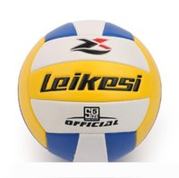 Wholesale volleyball ball resale online - 2017 new professional competition volleyball ball indoor outdoor beach volleyball training purpose volley ball