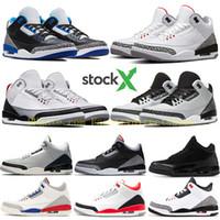 Wholesale shoe linings for sale - Group buy Top OG NRG Free Throw Line Black Cement Tinker OG men basketball shoes JTH Fire Red Infrared Sport Blue sneakers US