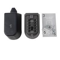 botón de bloqueo al por mayor-Ocultos Cofre de almacenamiento Botón pulsador Cifrado Clave Caja Personalidad Contraseña Bloqueo Caso Cat Eye Renovación Montado en la pared Venta caliente 40sjB1