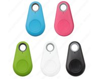 Wholesale mobile phone anti theft devices for sale - Group buy Hot Sale Child two way alarm anti lost device water drops Bluetooth anti lost mobile phone anti theft pet locator mini gps car tracker