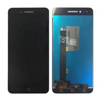 exibição do zte lcd venda por atacado-Para zte blade a610 display lcd touch screen digitador assembléia assembléia painel de vidro preto branco frete grátis