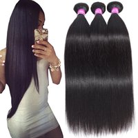 Wholesale mongolian hair extensions for sale - 9A Brazilian Straight Virgin Hair Wefts Bundles Unprocessed Brazilian Straight Body Wave Loose Wave Curly Human Hair Extensions