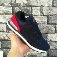 Wholesale match brand casual shoes resale online - Brand designer new leisure basketball shoes of high quality sports men and women casual shoes flat color matching running shoes size