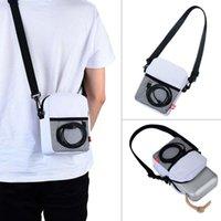 naylon taşıma çantası toptan satış-Taşınabilir Taşıma Çantası Naylon Beoplay P6 Hoparlör Smartphone Mini Kamera için Saklama Kutusu ve daha