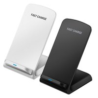 Wholesale universal charger for cellphones online – For pro max Qi Wireless Charger Fast Wireless Charger Stand Pad for smart cellphone Note s10