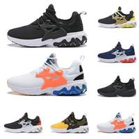 mini bal toptan satış-Yeni kadın erkek koşu ayakkabıları Presto React üçlü siyah Rabid Panda Breezy Perşembe Acımasız Bal erkek eğitmen nefes spor sneakers