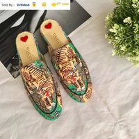 Wholesale sandal material for sale - Group buy Liujingang6 special material embroidery slippers Casual Handmade Walking Tennis Sandals Slippers Mules Slides Thongs