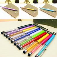 Wholesale stylus for laptops resale online - SZAICHGSI Screen Stylus Ballpoint Pen Crystal Stylus Pen Capacitive Stylish Ballpiont Pen For mobilephone laptop