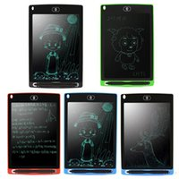Wholesale colored tablets resale online - 2020 inch LCD Writing Tablet Drawing Board Blackboard Handwriting Pads Gift for Kids Paperless Notepad Tablets Memo With Upgraded Pen