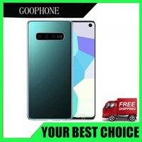 16gb sim kartlar toptan satış-4G LTE Face ID Parmak İzi Goophone S10 Artı 6.4