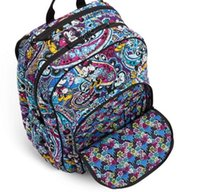 Wholesale halloween celebration for sale - Group buy Paisley Celebration Large Campus backpack for Sale Cartoon Mouse Style Schoolbags Cotton Mikey Large Campus Backpack with Laptop Sleeve
