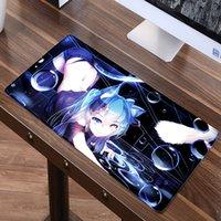 juego miku hatsune al por mayor-Grande 60 cm x 30 cm Anime Sexy alfombrilla de ratón Juego Gamer Gaming Hatsune Miku Alfombra de ratón Alfombrilla de ratón Mausunterlage tapis de souris