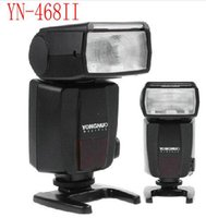 ingrosso yongnuo-YONGNUO YN-468 YN468 II Luci video a LED Flash Speedlite per Nikon D7000 D3000 D5100 D5000 D300s