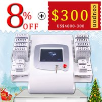 Wholesale medical beauty laser resale online - Lipo laser lipolysis diode nm nm Lipolaser Weight Loss Beauty Medical Equipment Body Slimming Machine paddles