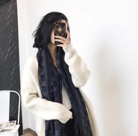 Wholesale brand shawl resale online - fashion Scarf Tops Man Womens Luxury Atumn Winter Cashmere like Shawl Scarf Brand Scarves Size about x45cm Colors with Box Option