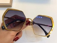 Wholesale The latest selling popular fashion designer sunglasses square frame top quality anti UV400 lens with original box