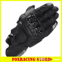 Wholesale motorcycle road race gloves resale online - 2015 hot S1 sale brand MOTO racing gloves Motorcycle gloves protective gloves off road gloves Black blue red white color M L XL