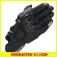 motosiklet eldivenleri kırmızı toptan satış-2015 sıcak S1 satış marka MOTO yarış eldiven Motosiklet eldiven / koruyucu eldiven / off-road eldiven Siyah / mavi / kırmızı / beyaz renk M L XL