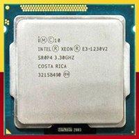 intel ghz venda por atacado-Processador Inter Xeon E3-1230 V2 4 núcleos com 8 linhas TDP 69W 3.30 GHz-3.70 GHz LGA1155