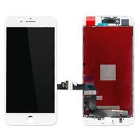 dokunmatik panelli cep telefonu toptan satış-100% Test 8 Artı Dokunmatik Ekran Digitizer LCD Ekran Meclisi 5.5 inç Cep Telefonu Tamir Parçaları Iphone 8 Için Hiçbir Ölü Piksel artı