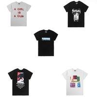 mischen sie hemdmänner großhandel-Beste Version Vergnügen Mix Stil Frauen Männer T shirts tees Hiphop Streetwear Männer Baumwolle Kurzarm T-shirt Vergnügen Drucken tees