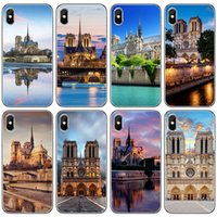 Wholesale apple france resale online - For Iphone Xr Xs Max Phone Case France Paris Notre Dame X Plus Commission Transparent TPU Soft Cell Phone Case