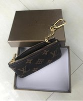 ingrosso borsa della moneta del portafoglio hobo-KEY POUCH Damier canvas detiene alta qualità famoso classico designer donne portamonete portamonete piccola borsa di pelletteria