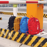 Wholesale sale backpacks for sale - Group buy Sup Brand Backpack Man Sport High Capacity Knapsack Leisure Travel Rucksack Yellow Red Blue Black Hot Sale ly D1