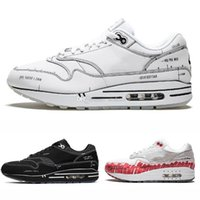 Wholesale sketches art resale online - New Tinker Sketch to Shelf Atmos Red Black White Mens Running Shoes For Men Trainers Women Designer Sneakers