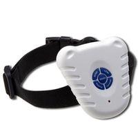 Wholesale dog collar trainer resale online - Newest Hot Sale Safe Ultrasonic Dog Pet Stop Barking Anti Bark Training Trainer Control Collar
