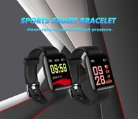 Wholesale outdoor gps android ip67 online – D13 Smart Bracelet Fitness Tracker Heart Rate Blood Pressure Monitor Sports Smart Band plus IP67 Waterproof For Android IOS