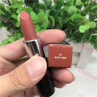 Wholesale lipstick new resale online - 1PCS Hot lipstick VELVET TEDDY matte lipstick New Color WHIRL YASH TWIG lipstick g HONEY LOVE RUBY WOO MARRAKESH with sweet smell ePacket