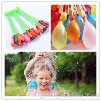 Wholesale free children toys resale online - 2017 Hot Colorful Bunch Water Balloons Children Water Game Toys Amazing Magic Sport Water Filled Balloons DHL Free bunches balloons