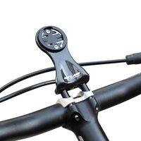 gopro bisikletini takma toptan satış-GUB 693 Karbon Fiber Bisiklet Yol Bisikleti MTB Bilgisayar Kronometre Kilometre Garmin Bryton Cateye GoPro Feneri Için Dağı Tutucu ...