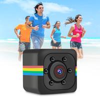 mikro kamera dvr hareketi toptan satış-SQ11 Mini Kamera HD 1080 P Sensörü Gece Görüş Kamera Hareket DVR Mikro Kamera Spor DV Video
