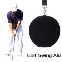 drop shipping bolas de golfe venda por atacado-Novo golf bola inflável inteligente Golf Swing Trainer Aid Assist Posture Correção Suprimentos de Treinamento