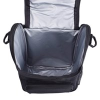 Wholesale water bottle holder for camping for sale - Group buy 2019 camping Cool Lunch Box insulated Lunch Thermal Bag for Women Men Work School Kids Girls Boys With Shoulder Strap Water Bottle Holder
