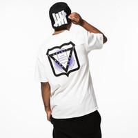 camisas oficiais venda por atacado-19SS INDEPENDENTE OFICIAL TEE Moda Street Hip Hop T-Shirt Simples Ocasional Dos Homens Das Mulheres de Verão de Manga Curta Sólida HFYMTX483
