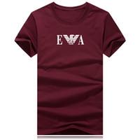 kaslı erkekler tişörtü toptan satış-Marka Erkek kas T gömlek vücut geliştirme spor erkekler pamuk atlet Tops artı Büyük boy TShirt Pamuk Örgü Kısa Kollu Tshirt