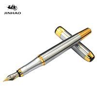 каллиграфические перья оптовых-Art Supplies Fountain Pen Stationery  Jinhao 250 Ink Pen Calligraphy Office Supplies Nibs for Fountain Pens Nib 0.5mm