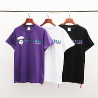ingrosso camicie casual diverse-Maglietta delle donne del progettista Marchio di moda casual di lusso a maniche corte con t-shirt di design di marca di colore diverso Magliette vivaci delle donne